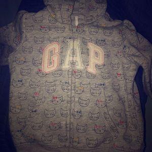 Baby gap cat hoodie